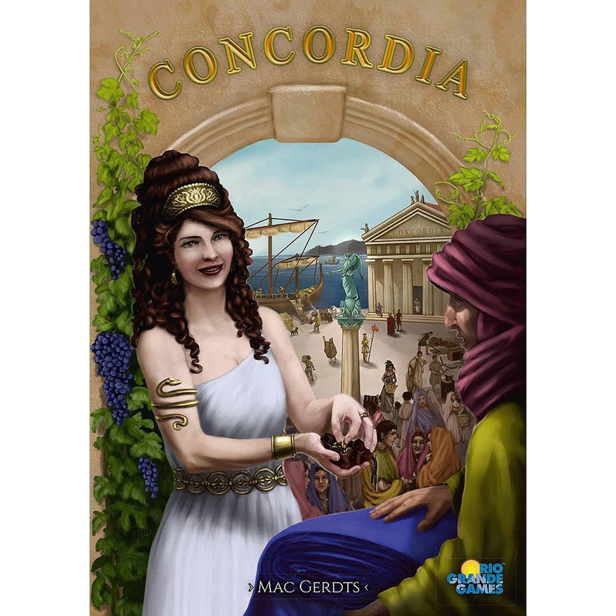 Rio Grande Games Concordia Game Board Game by Rio Grande Games