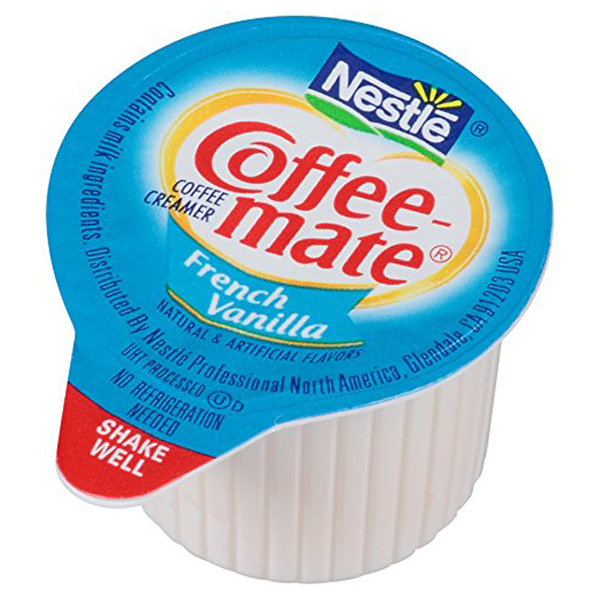 Coffee-mate French Vanilla Liquid Coffee Creamer 180 Count 67.5 oz Containers - Pack of 1