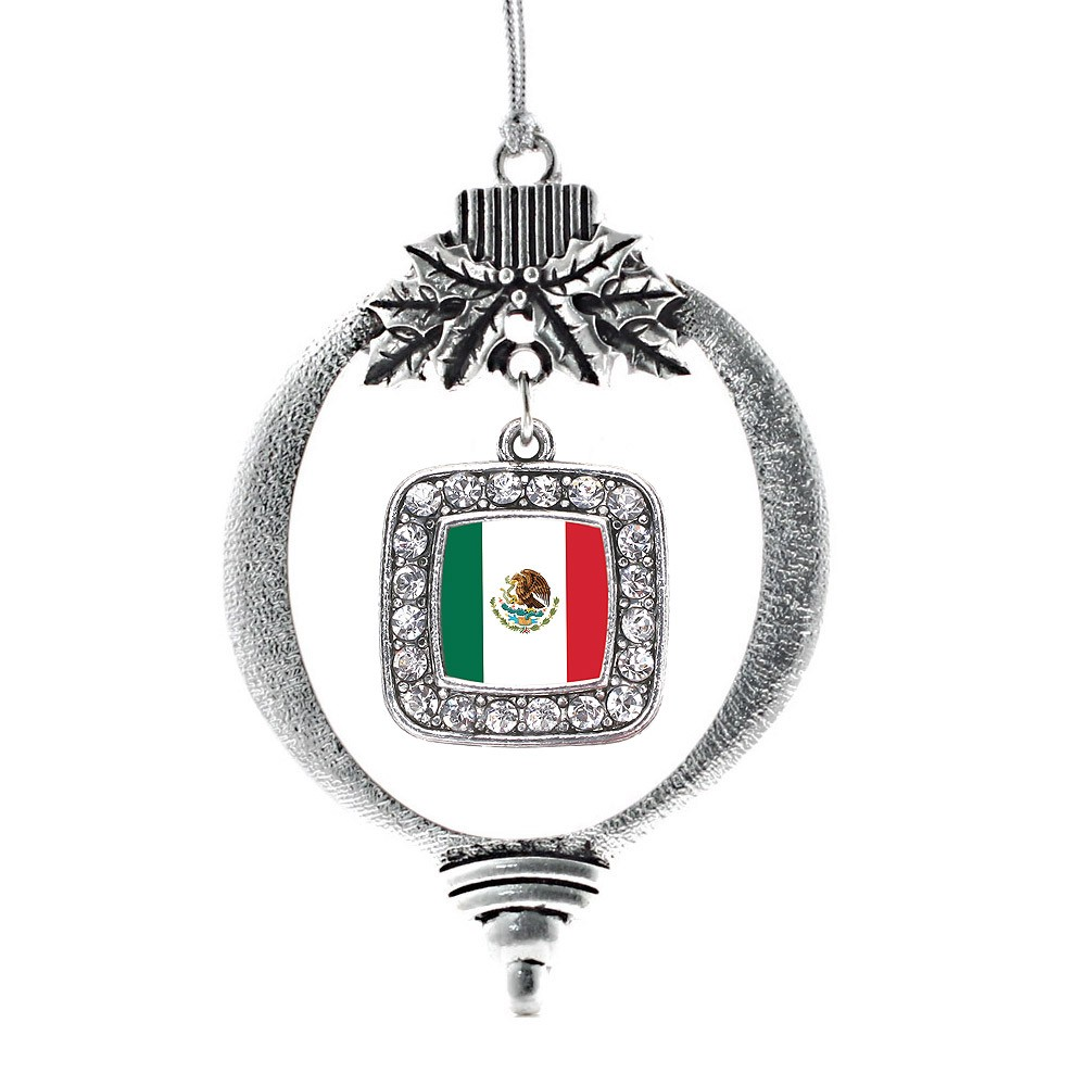 Mexican Flag Classic Holiday Ornament