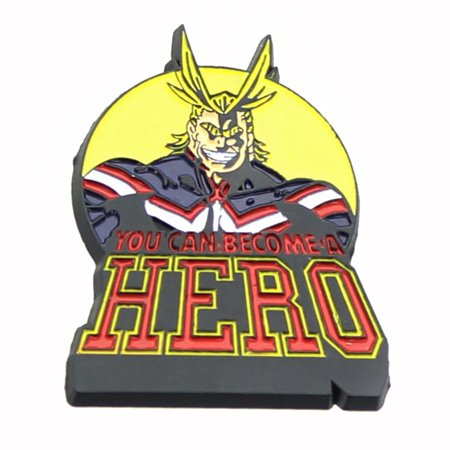 My Hero Academia All Might Enamel Collector Pin (Heroes Pin)