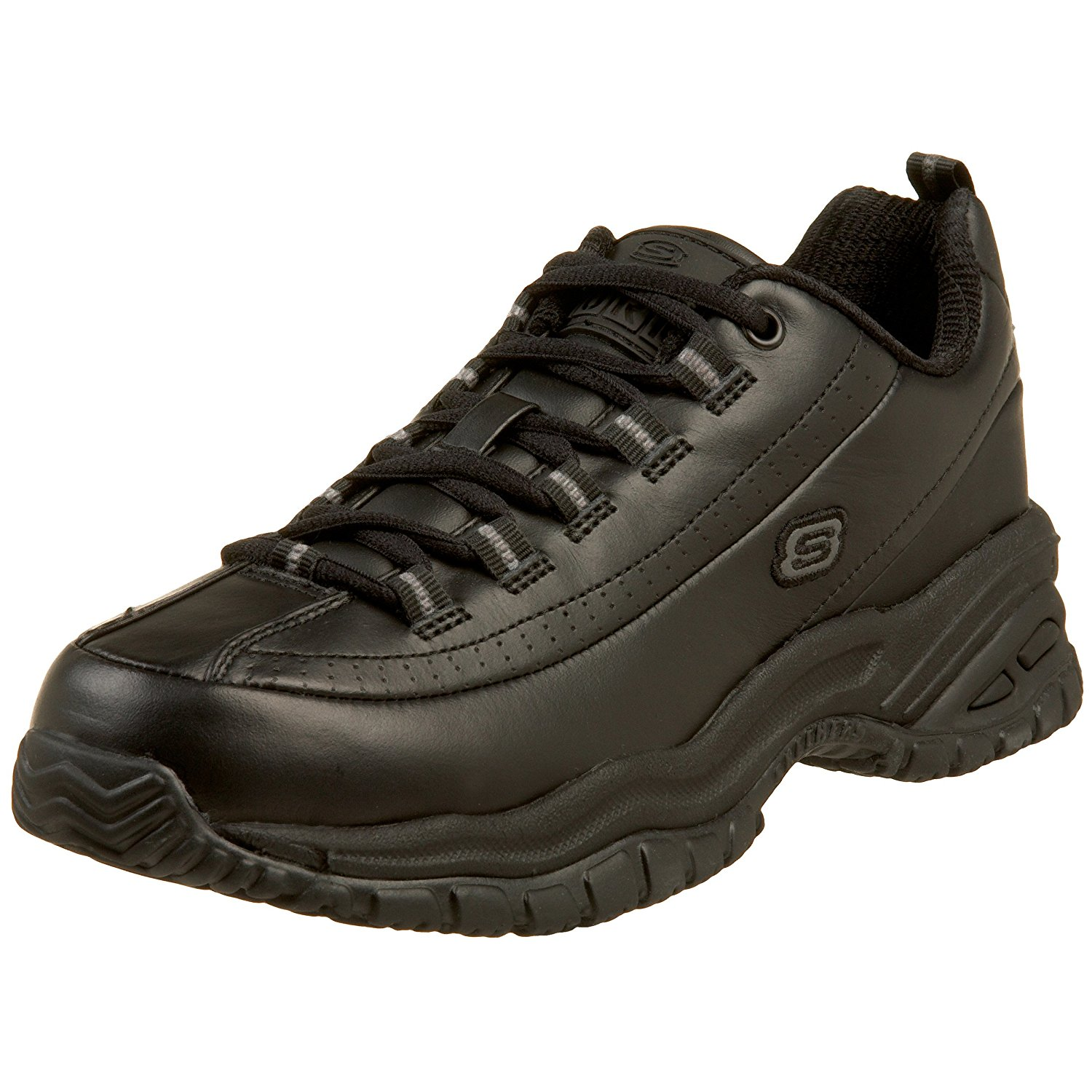 Skechers for Work Women's Soft Stride-Softie Lace-Up,Blac...