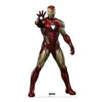 Advanced Graphics 2958 74 x 39 in. Iron Man 02 Avengers Endgame Cardboard Cutout Standup