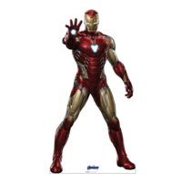 Advanced Graphics 2958 74 x 39 in. Iron Man 02 Avengers Endgame Cardboard Cutout Standup