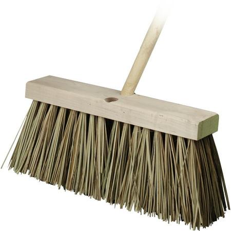 16' Street Broom - Bon 12-275 Street Broom - Palmyra 16 inch with 5 foot Handle