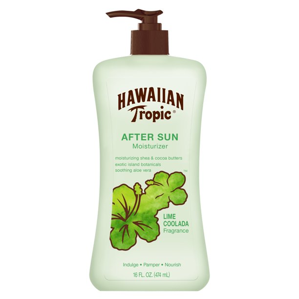 Hawaiian Tropic Lime Coolada After Sun Moisturizer, 16 oz