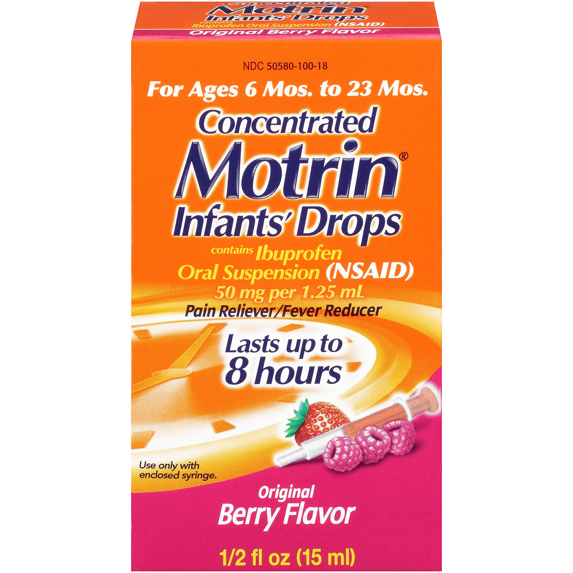 Infants' Motrin Concentrated Drops, .5 Oz