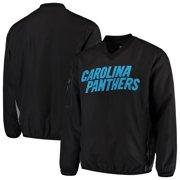 Carolina Panthers G-III Sports by Carl Banks Gridiron V-Neck Pullover Sweatshirt - Black