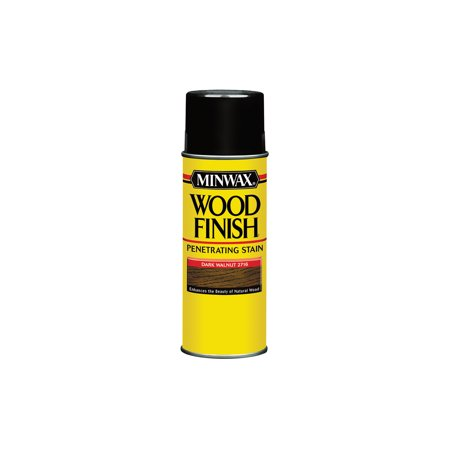 Medium Walnut Finish - Minwax® Wood Finish™ Aerosol Dark Walnut, 11.5-Oz