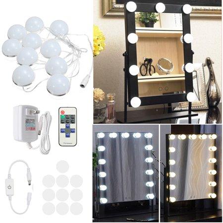 10 Bulbs 20W Hollywood Super Star Makeup Mirror Vanity LED Light Bulbs Kit for Dressing