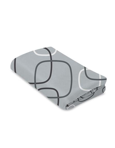 Baby Trend Aqua//Grey//White Drip Drop Play Yard Sheet Crown Crafts