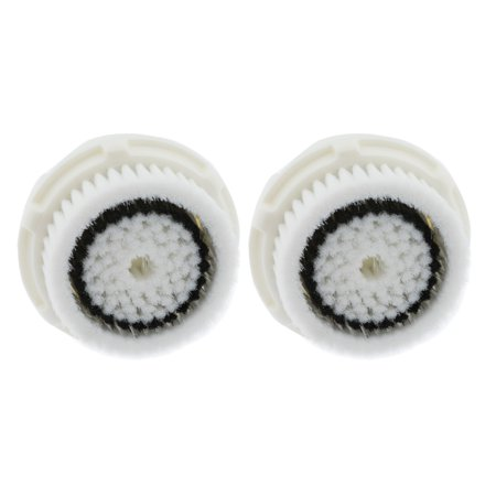 2-Pack Sensitive Skin Facial Cleansing Brush Heads for Clarisonic Mia 2 Pro