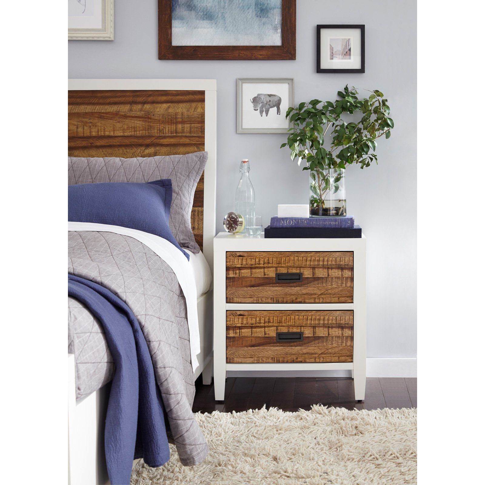 Modus Montana 2-Drawer Nightstand by Modus Furniture