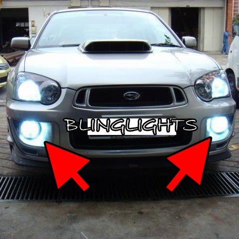 2001-2005 Subaru Impreza GG RS WRX Fog Lamps Driving Lights Kit