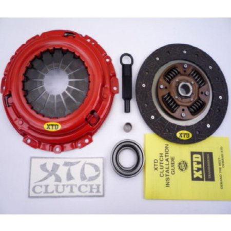 XTD STAGE 1 CLUTCH KIT 88-92 MAZDA MX-6 626 89-92 FORD PROBE GT TURBO (Mazda 626 Probe)
