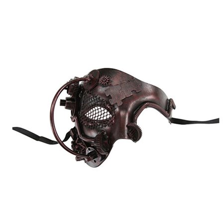 Kayso Steampunk Phantom Of The Opera Mechanical Venetian Masquerade Mask - Steampunk Half Mask