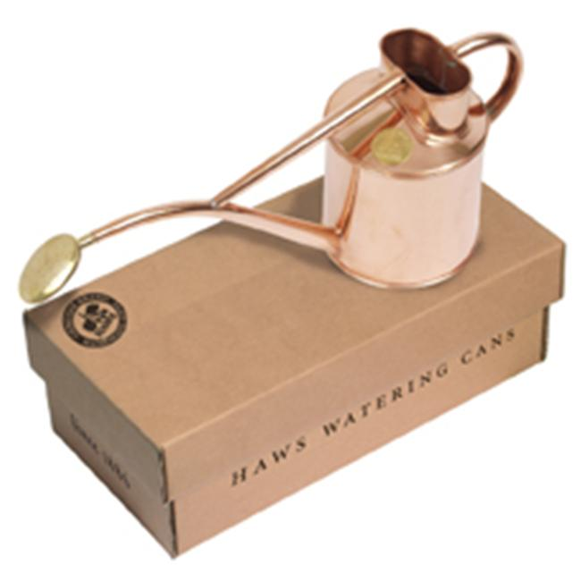 Haws V180 2 Pint Indoor Copper Watering Can  includes Rose