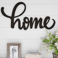 Metal Cutout- Home Decorative Wall Sign-3D Word Art Home Accent Decor-Perfect for Modern Rustic or Vintage Farmhouse Style by Lavish Home