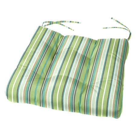 Cushion Source Sunbrella Striped 17 5 X 16 In Chair Cushion