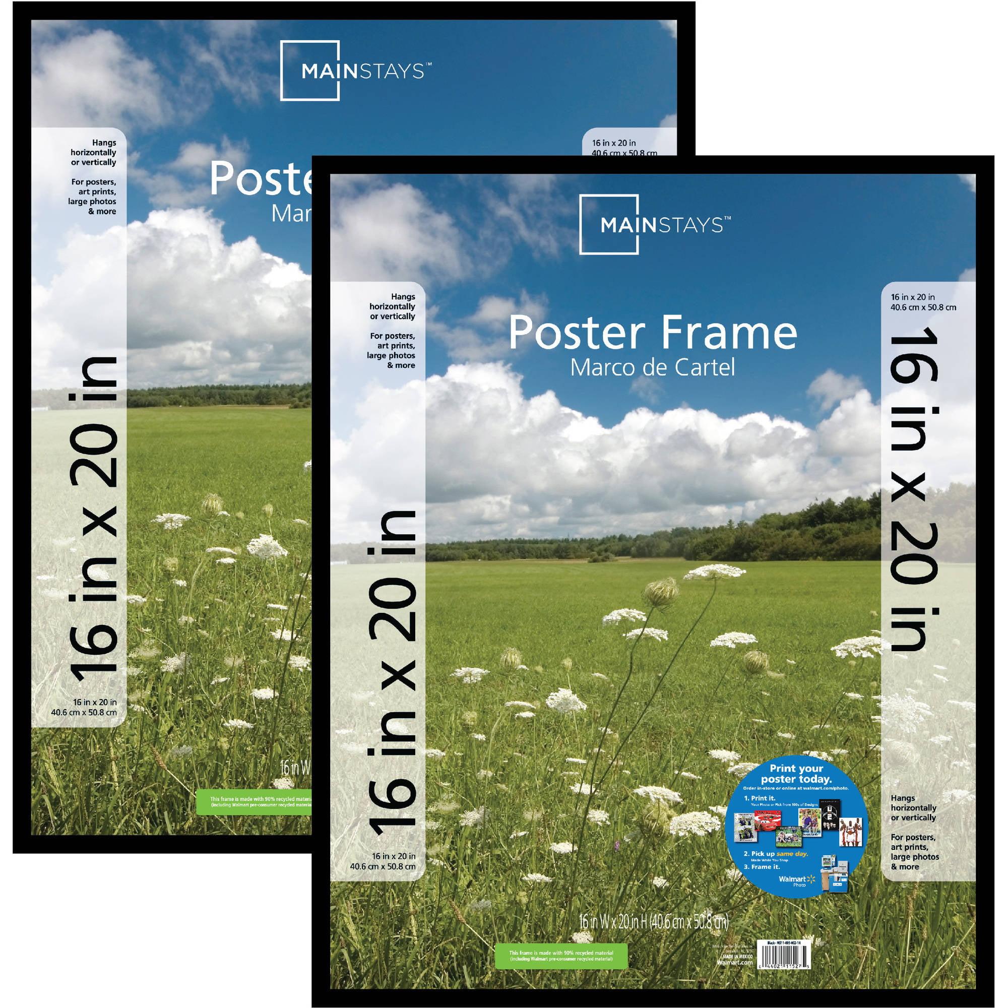 16x20 Poster Size Comparison