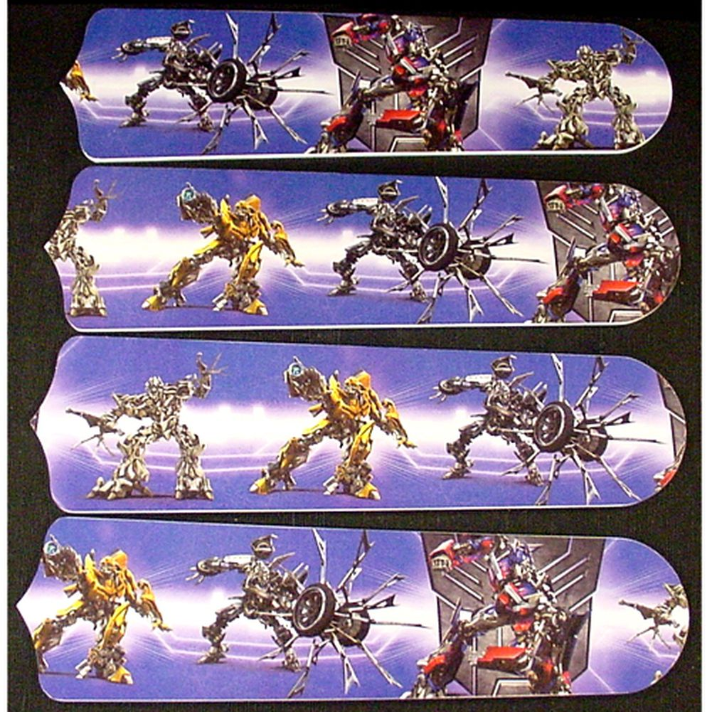 Transformers Custom Designer 42in Ceiling Fan Blades Set