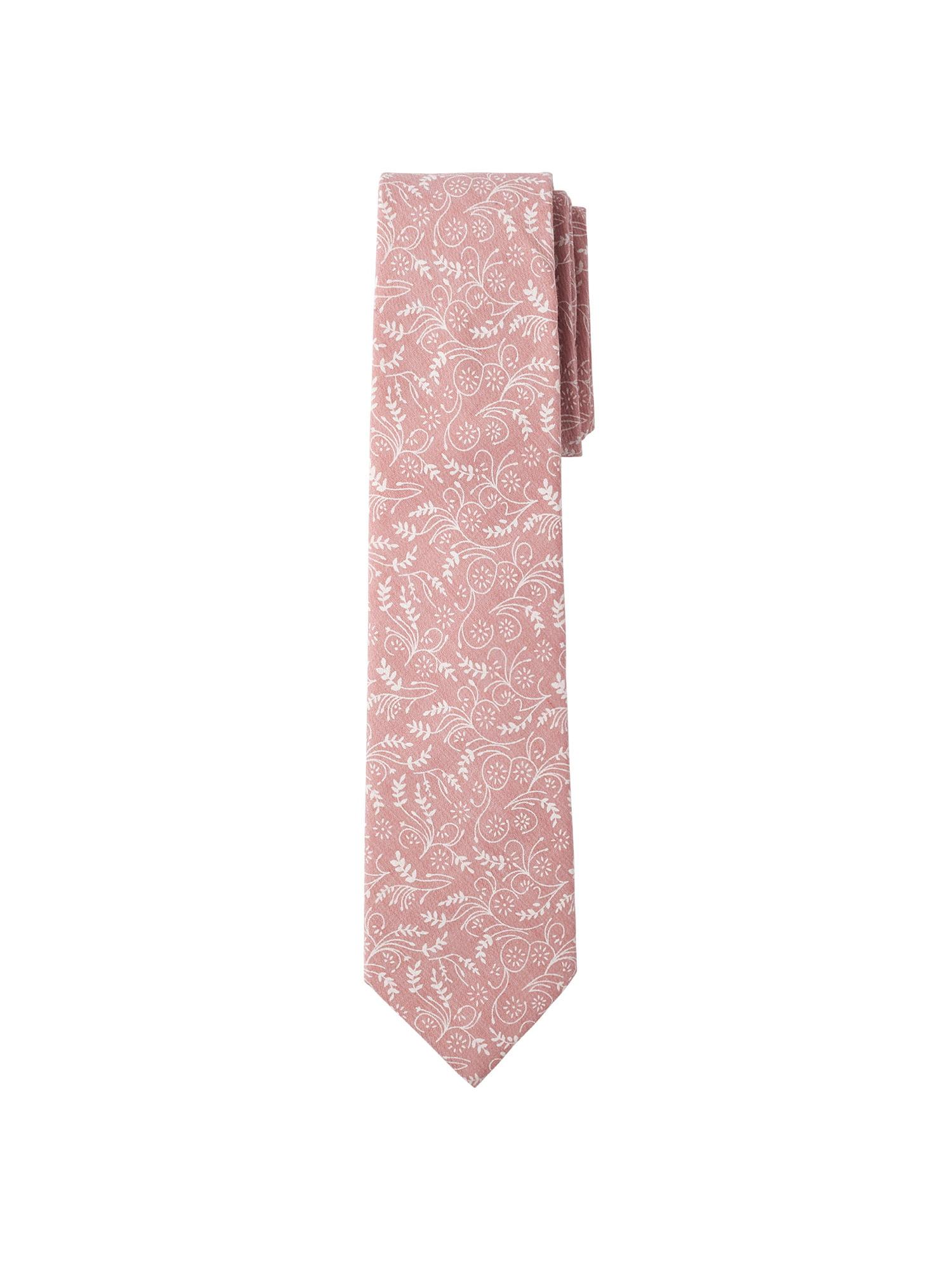Dusty Rose Jacob Alexander Boys Regular Self Tie Prep Solid Color Necktie