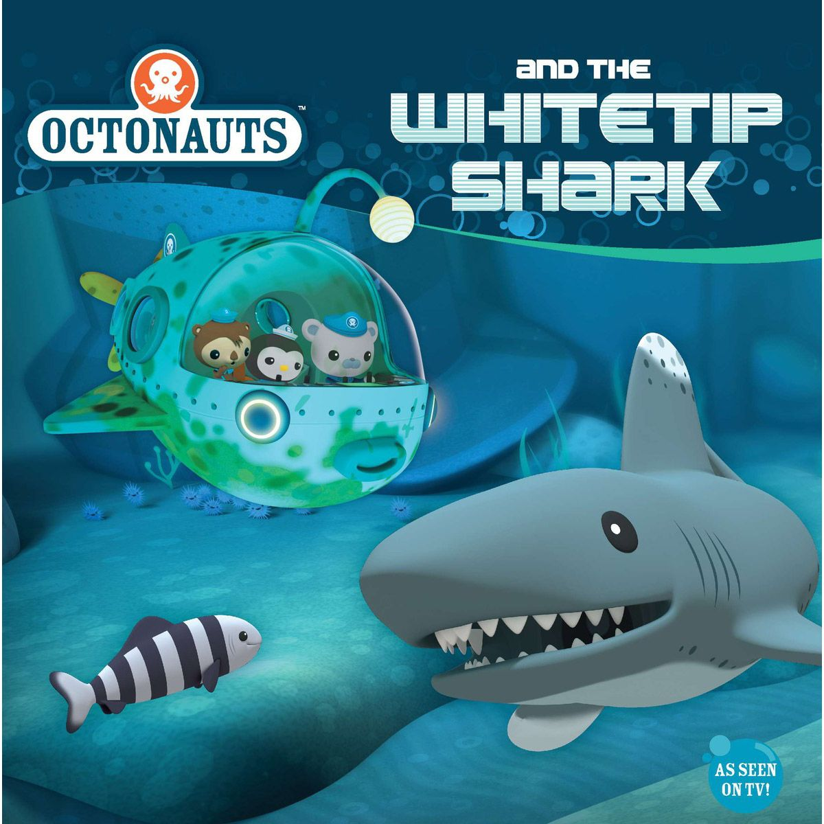 Octonauts and the Whitetip Shark - 8x8 Book - Party Supplies