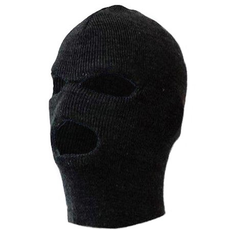 Winter Knits Kit - MO8270, 3 Holes Premium Knitted Winter Ski Mask (One Size Fits Most)