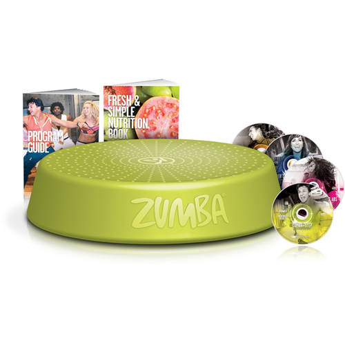 Zumba Incredible Results DVD System by