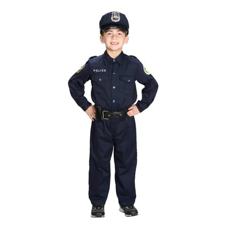 Aeromax Jr. Police Officer Suit Costume