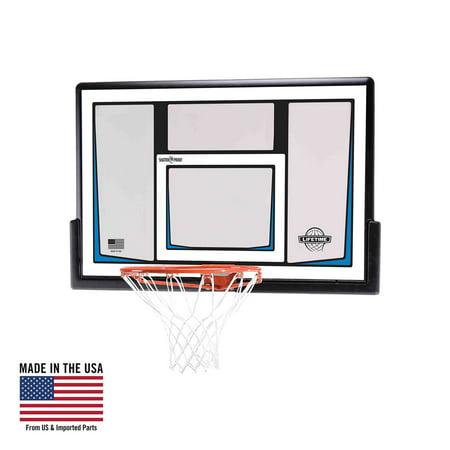 Lifetime Basketball Backboard and Rim Combo (50-Inch Polycarbonate), 90086