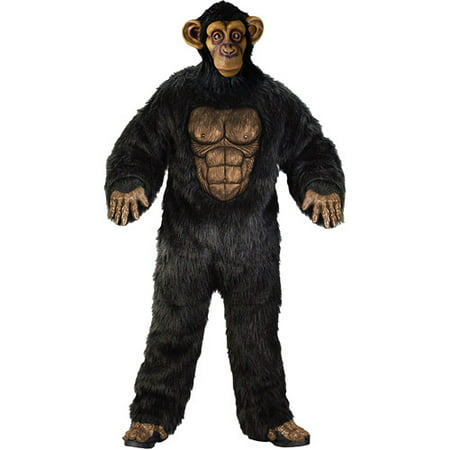 Comical Chimp Adult Halloween Costume (Cheap Fortune Teller Halloween Costumes)