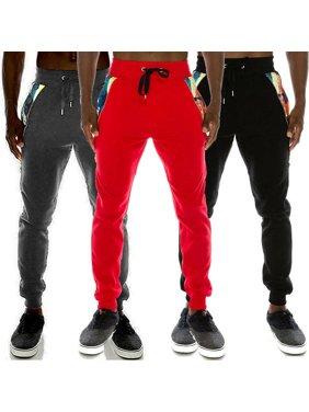SUNSIOM Men's Long Pants Boy Gym Joggers Sports Sweatpants Skinny Tracksuit Trousers