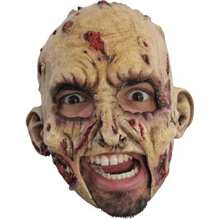 Zombie Latex Mask Adult Halloween Accessory