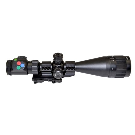Presma Eagle Series 4-16X50 Precision Rifle Scope with Front Adjustable Objective Lens, Cantilever Scope Mount and Accessories ()