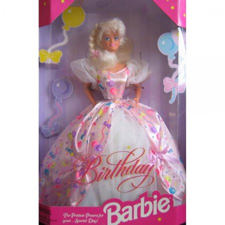 Birthday BARBIE Doll The Prettiest Present For Your...Special Day! (1996)