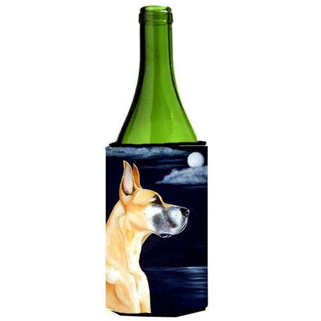 Carolines Treasures 7100LITERK Fawn Great Dane Moonlight Stroll Wine bottle sleeve Hugger 24 oz. - image 1 de 1