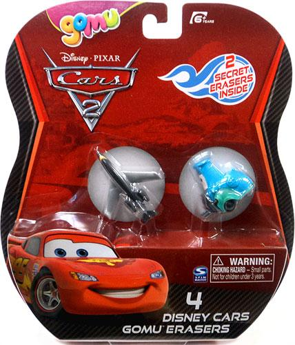 Disney Cars Gomu Siddeley & Guido Gomu Erasers 4-Pack by