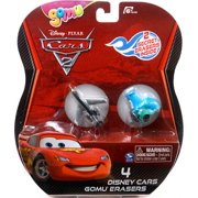 Disney Cars Gomu Siddeley & Guido Gomu Erasers 4-Pack