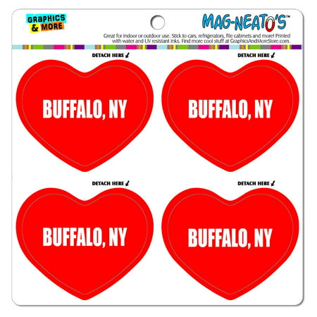 I Love Heart City State Buffalo Ny Mag Neato S Tm