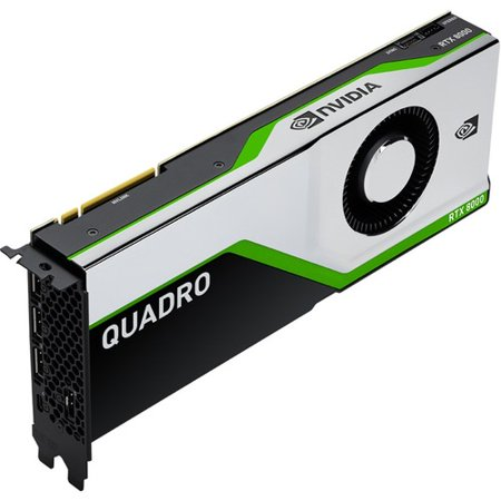 PNY Quadro RTX 8000 Graphic Card - 48 GB GDDR6 - 384 bit Bus Width - 4 x DisplayPort - PC - 4 x Monitors Supported PNY Quadro RTX 8000 Graphic Card - 48 GB GDDR6 - 384 bit Bus Width - 4 x DisplayPort - PC - 4 x Monitors Supported