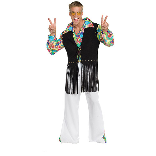 60s Dude Outta Sight Adult Halloween Costume - One Size