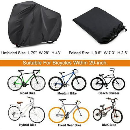 Oxford Single Triple Bicycle Bike Cycle Cover Waterproof Rain Storage Double