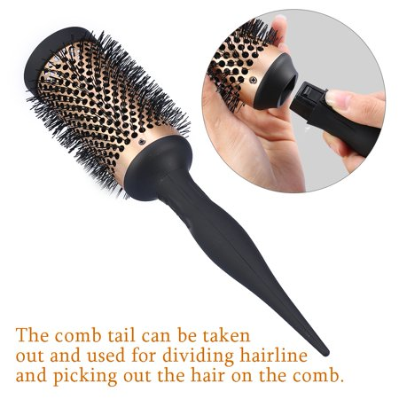 Ejoyous 4 Sizes Fashion Beauty Salon Hairdressing Ceramic Ionic Round Curly Hair Comb Dressing Brush , Round Hair Brush,Ionic Round