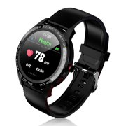 TSV Smart Watch Wristband Bracelet with Blood Pressure & Blood Oxygen & Heart Rate Monitoring, IP68 Waterproof Activity Tracker Variety Sports Modes Watch for Diving Swimming Running Cycling Women Men