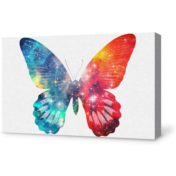 Wall26 Canvas Wall Art Beautiful Butterfly Giclee Painting Wall Art For Bedroom Living Room Home Decoration Walmart Com Walmart Com