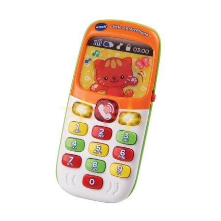 VTech Little SmartPhone (Toy Cell Phone For 1 Year Old)