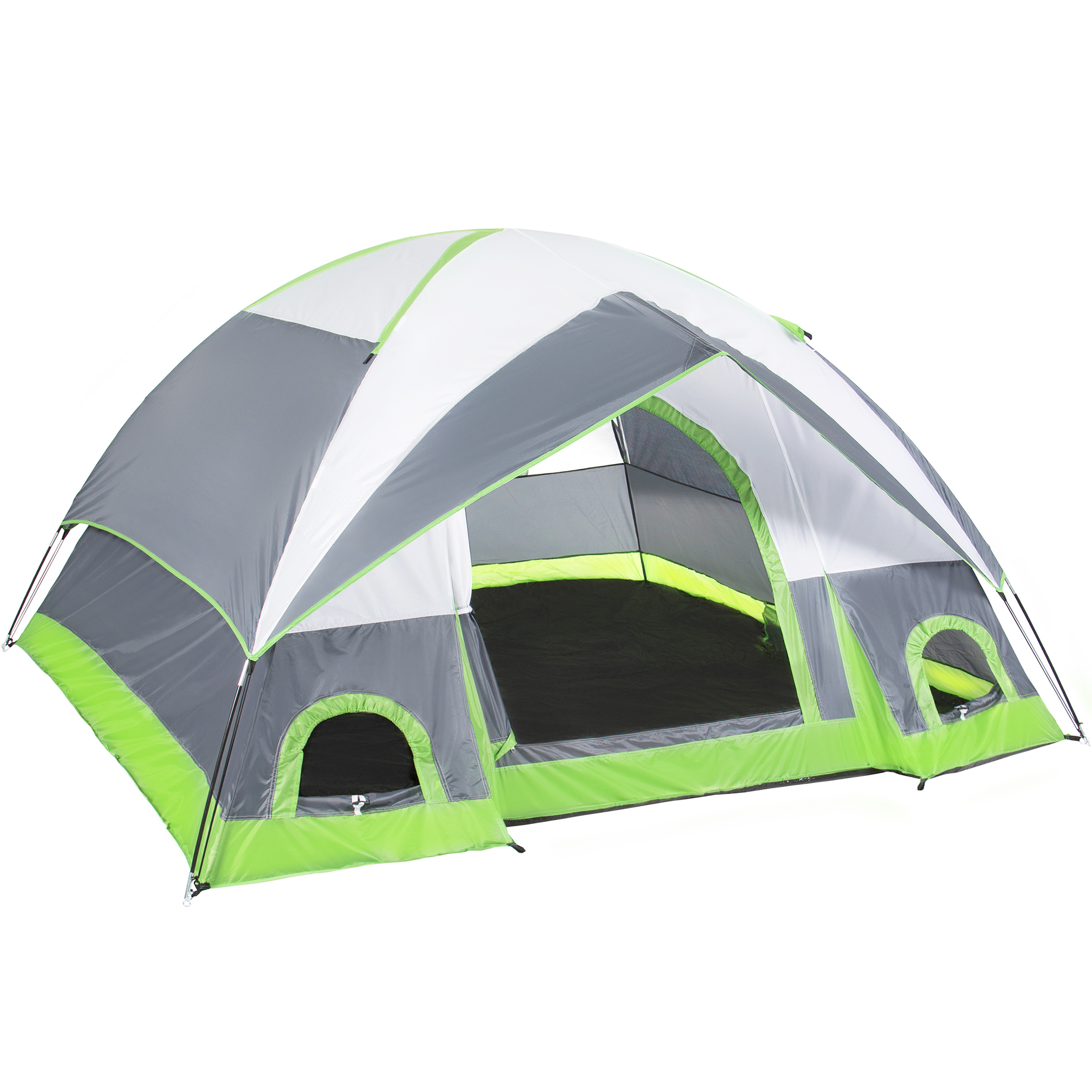 4 Person Camping Tent Family Outdoor Sleeping Dome Water Resistant W  Carry Bag by
