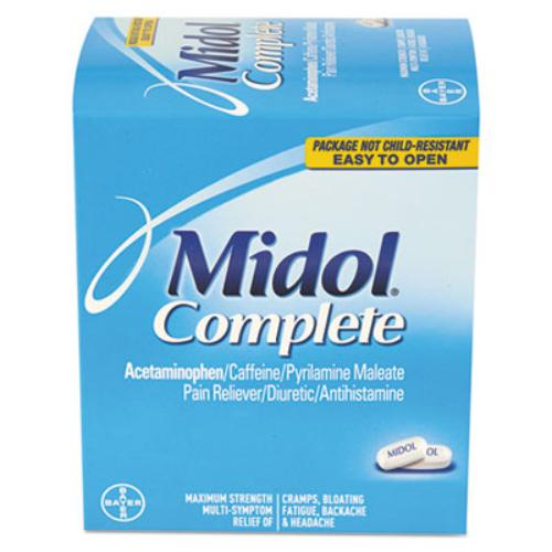 Acme United BXMD30 Menstrual Complete Caplets, Two-pack, 30 Packs/box