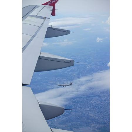 LAMINATED POSTER Aircraft Fly Sky Flyer Fluegl Clouds Flight Poster Print 24 x 36