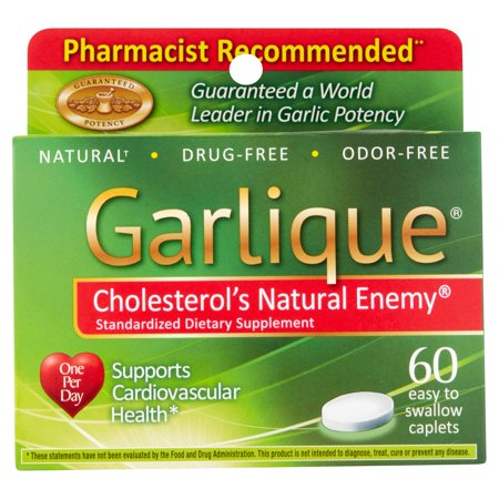 Garlique Standardized Dietary Supplement 60 Ct